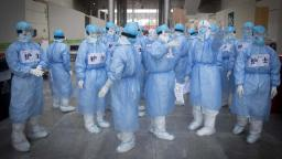 China admits six hospital staff have died and over 1,700 health workers have caught coronavirus
