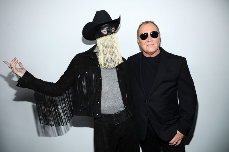 Canadian Musician Orville Peck Performed at Michael Kors' Fall 2020 Show