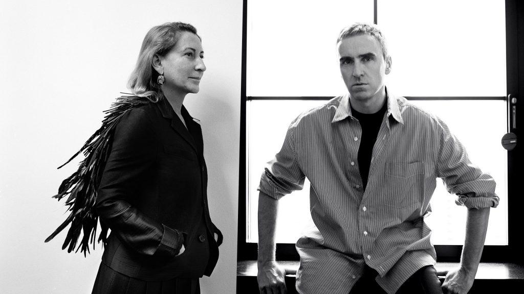 Raf Simons Named as Co-Creative Director at Prada