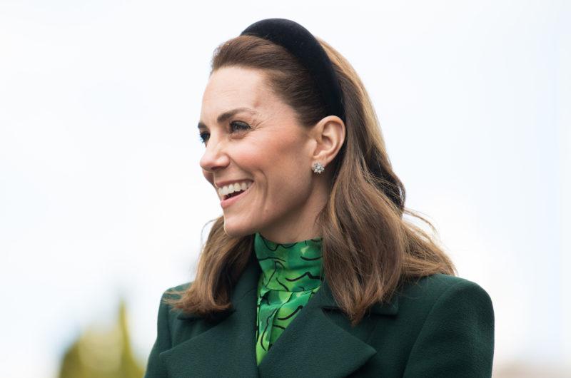 Kate Middleton Kicks Off the Royal Ireland Tour in an All-Green Ensemble