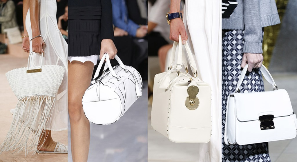 The white bags that we will not stop holding this summer