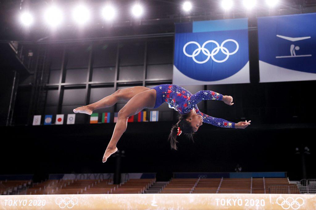 Faltering start for champion gymnast Simone Biles